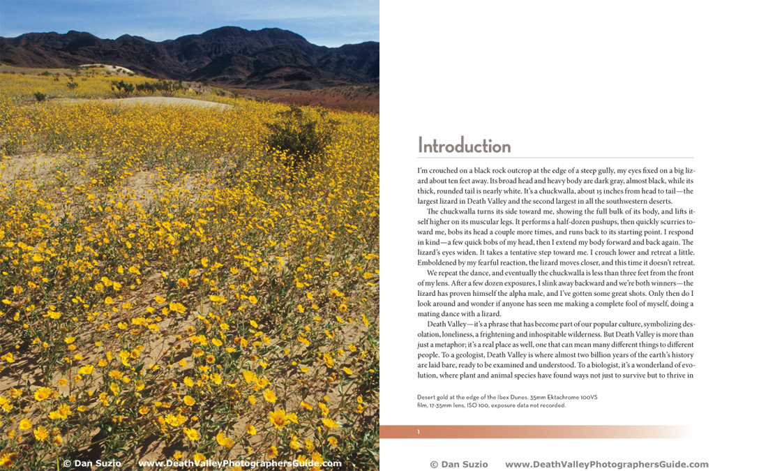 Death Valley Photographers Guide - Introduction
