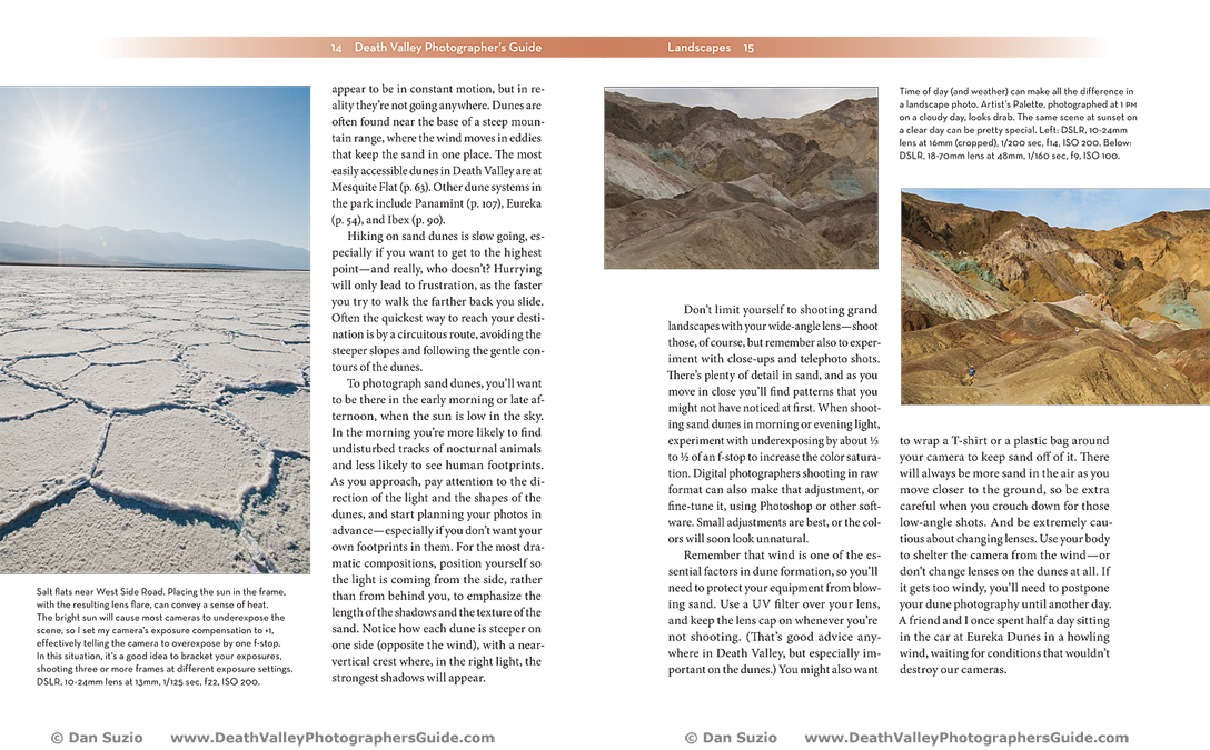Death Valley Photographers Guide - Landscapes